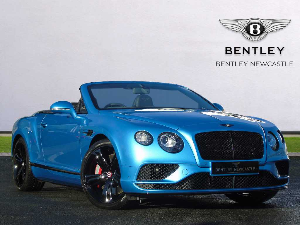 Pre Owned Cars >> Bentley used car Continental GT V8 S Convertible Blue